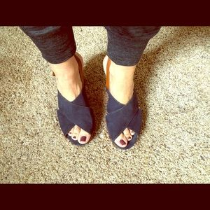 Mossimo Navy wedges